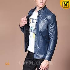 leather shirt for men cw807011 cwmalls com