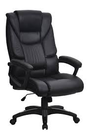 high back leather chairs. FARRINGDON High Back Leather Effect Ergonomic Executive Office Chair Chairs C