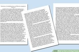 easy ways to start a college essay pictures image titled start a college essay step 2