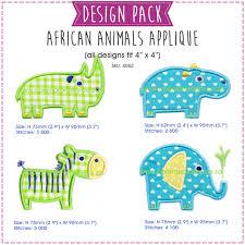 Animal Applique Designs