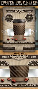 Coffee Shop Brochure Template Coffee Shop Magazine Ad Or Flyer Template V24 Coffee Company 22
