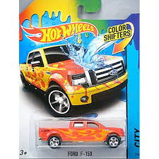 Hot Wheels - Color Shifters - Ford F-150 Pickup Truck - Global ...