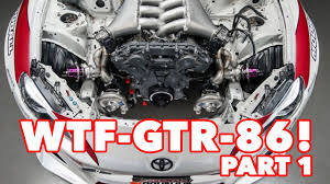 WTF86 - VR38 R35 GTR Engine into StreetFX Toyota 86 - Build Update ...