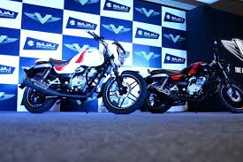 new car launches of bajajBajaj Auto launches V a new motorcycle with metal from warship