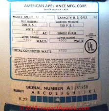 American Or American Appliance Manufacturing Inc Water