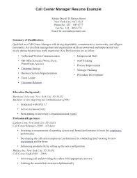 Call Center Skills Resume Download Sample Special For Ca Netdevilzco Beauteous Call Center Skills Resume