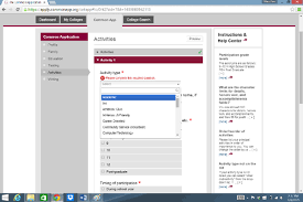 how to write about extracurriculars on college applications common app activities activity type