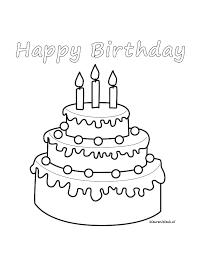 Happy Birthday Kleurplaat Op Wwwkleurenisleuknl παιδικες