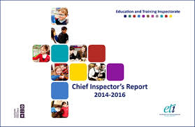 Training Report Cover Page Chief Inspectors Report 2014 2016 Education Training