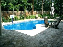 backyard pool designs for small yards. swimming pool designs for small yards design backyard .