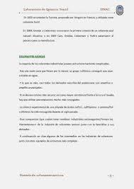 Sintesis De Colorantes Azoicos Qu Mica Textil