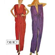 Vintage 70s Bohemian Maxi Caftan Dress Pattern Mccalls 6884