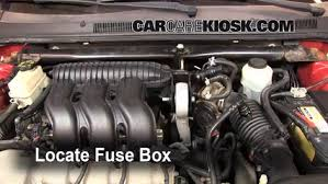 replace a fuse 2005 2007 ford style 2005 ford style se locate engine fuse box and remove cover