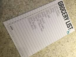 How To Make A Grocery List A Grocery List That Will Save Both Time And Money The Full