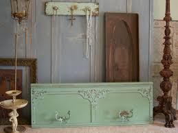 Shabby Chic Wall Coat Rack Old Shabby Wall Coat Rack Very Large Chic Distressed Aqua Paint 77