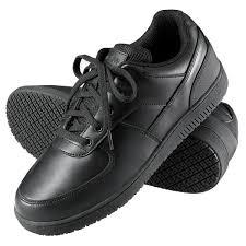 black leather sport classic non slip shoe main picture