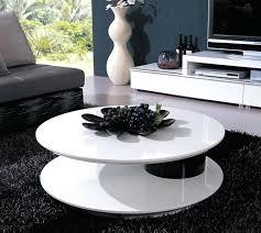 white round coffee table modern white round coffee table modern colette modern round high gloss white
