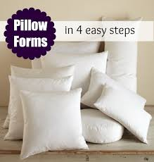 Decorative Pillow Forms
