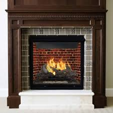 Duluth Forge Dual Fuel Ventless Fireplace 26000 BTU TStat Ventless Fireplaces