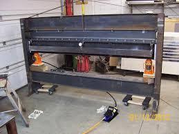 diy press brake plans unique 275 best sheet metal tools images on of diy press