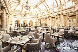 garden court and gc lounge at the palace hotel
