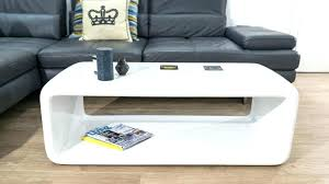 natural coffee table high glos oval gloss coffee table white modern white