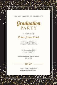 Free Graduation Invitation Templates Sample Get Sniffer