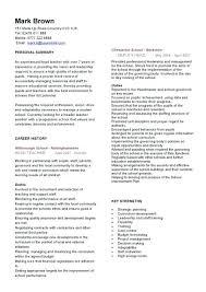 School Teacher Resume Examples Brilliant Student Teaching Resume