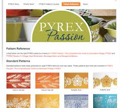 Rare Pyrex Patterns Awesome Pyrex Passion Behind The Glass