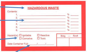 Chemical Waste Management Guide Environmental Health Safety
