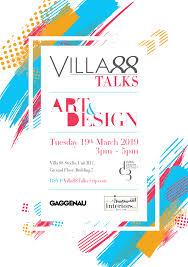Difference Between Art And Design Villa 88 Talks Art And Design Art Dubai