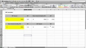 Vat Calculation Formula In Excel Download How To Make A Vat Calculator In Microsoft Excel Free Vat Calculator File