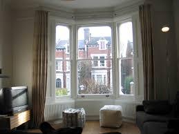 bay window aluminium curtain track