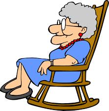 rocking chair clipart. Grandma Rocking Chair Clipart