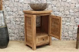 Waschtischunterschrank Holz Hängend Extravaganz Bad Unterschrank