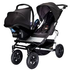 side by side double stroller for infant and toddler – plantoco