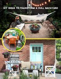 diy ideas to transform a dull backyard