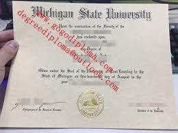Sample Degree Certificates Of Universities Msu University Degree Fake Msu Michigan State University