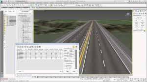 Civil View 3ds Max Design Tutorials Using 3ds Max Design With Civil 3d Part 13 Creating Road Markings