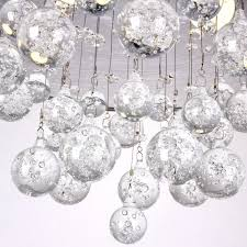 modern 2 light ceiling with clear crystal flush mount chandelier