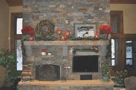 simple rock fireplace in 15 rock fireplace mantel decorating ideas selection page 2 of 3