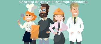 Resultado de imagen de contrato indefinido de apoyo a los emprendedores