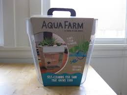Self Cleaning Fish Tank Garden Aquaponics With The Back To The Roots Fish Tank Gratuitous Foodity