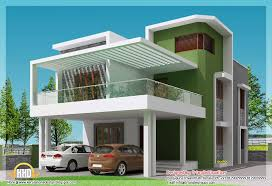 simple modern house. Simple Design Home Modern House Beautiful 4 Bhk Contemporary Plan 3d View
