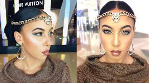 Ancient Egyptian Hair Style egyptian goddess makeup hair tutorial diy head accessory youtube 7456 by wearticles.com