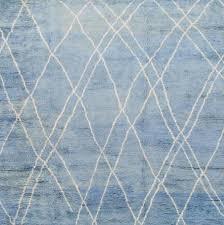 blue moroccan rug
