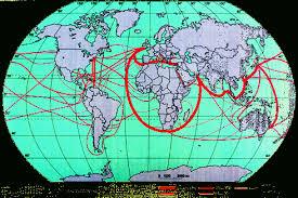 География Географическое разделение труда и экономическая  В 80 90 е гг США значительно превосходили все страны мира по объему внешнеторгового оборота доля в мировом экспорте в среднем 13% в импорте 11% и