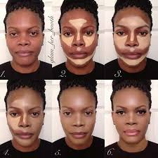 contour makeup kit for dark skin. makeup best contouring tips and tutorials for dark skin looking the contour kit p