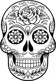 Small Picture Hard sugar skull coloring pages ColoringStar