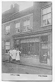 Kapelstraat 12 Cafetaria T Passantje Open Joodse Huizen
